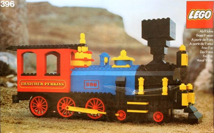 Lego 396 Thatcher Perkins Locomotive image