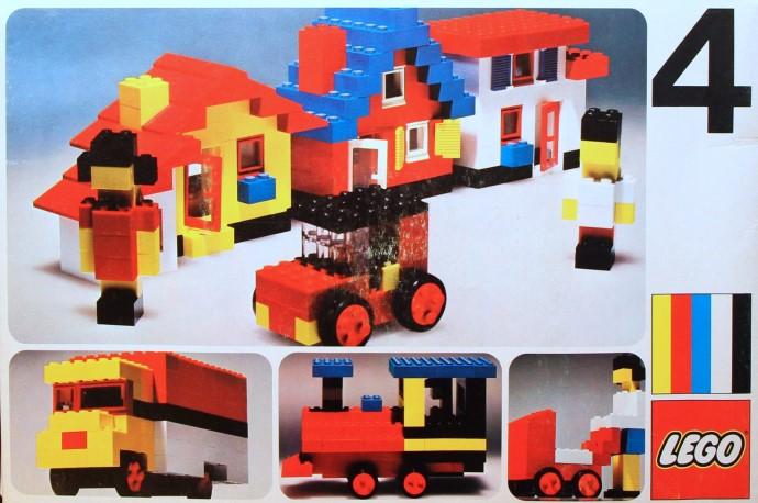 Изображение набора Лего 4 Basic Set