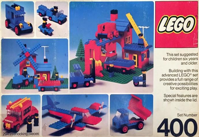 Изображение набора Лего 400 Building Set, 6+