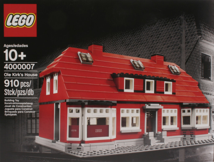 4000007 1 Ole Kirk S House Brickset Lego Set Guide And