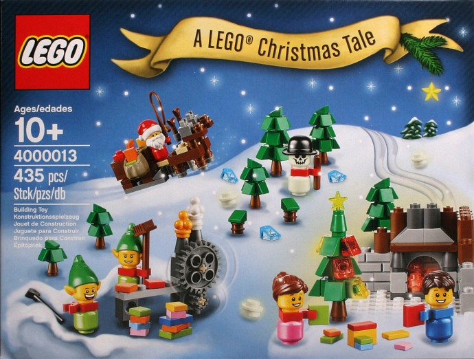 4000013 1 a lego christmas tale brickset lego set guide and database