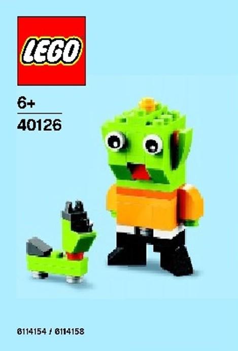 Kangaroo polybag 2015 08 August LEGO Monthly Mini Model Build Set