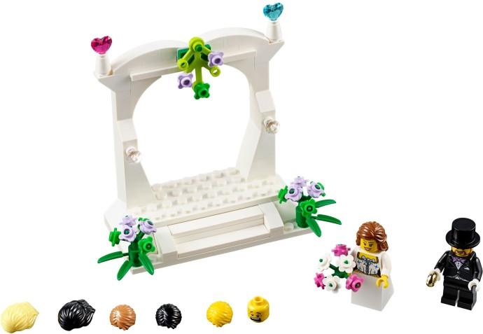 Lego 40165 Minifigure Wedding Favour Set image