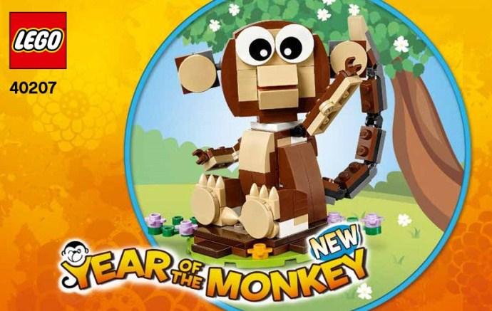 Lego 40207 Year of the Monkey image