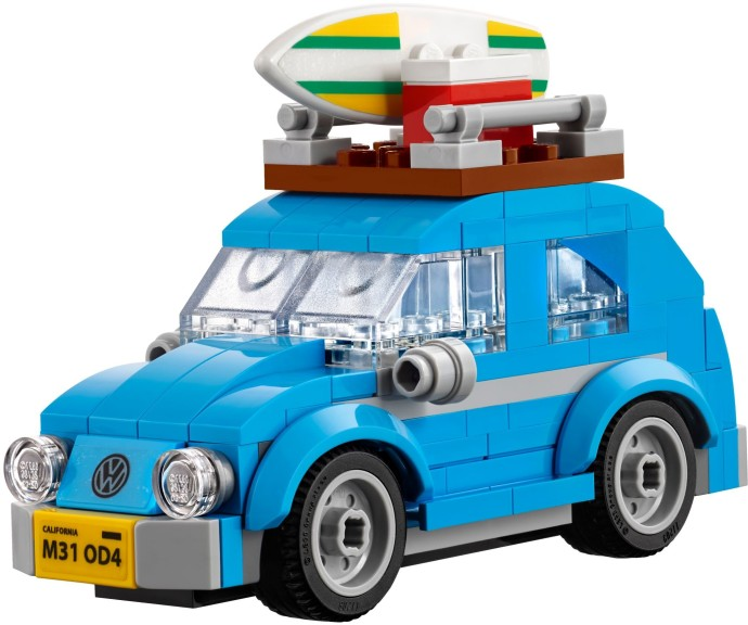 40252-1: Mini Volkswagen Beetle | Brickset: LEGO set guide and database