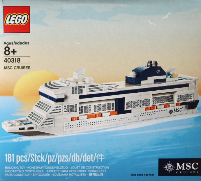 40318-1: MSC Cruises | Brickset: LEGO set guide and database