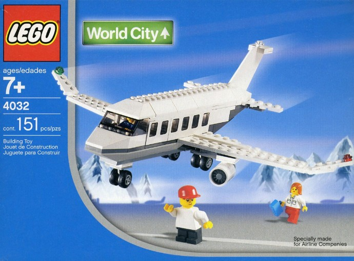 A Blast From The Past Set 4032 Holiday Jet Brickset Lego Set