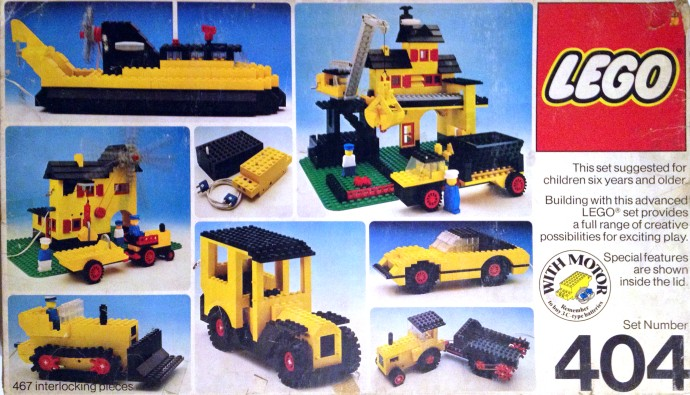 Lego 404 Building Set, 6+ image