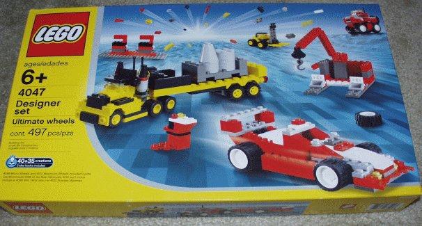 Изображение набора Лего 4047 Ultimate Wheels