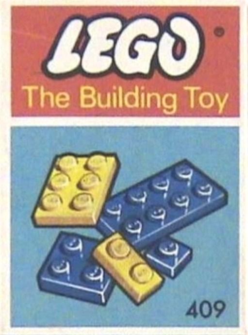 Изображение набора Лего 409 38 Slimbricks Assorted Sizes (The Building Toy)
