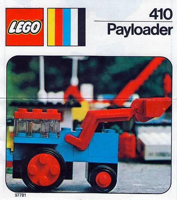 Изображение набора Лего 410 Payloader