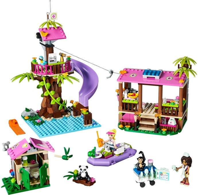 41038 1 jungle rescue base brickset lego set guide and database. Black Bedroom Furniture Sets. Home Design Ideas