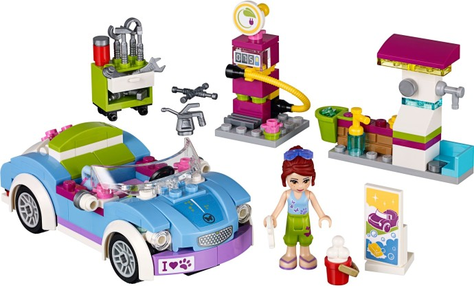 Friends 2015 brickset lego set guide and database for Olivia s garden pool instructions