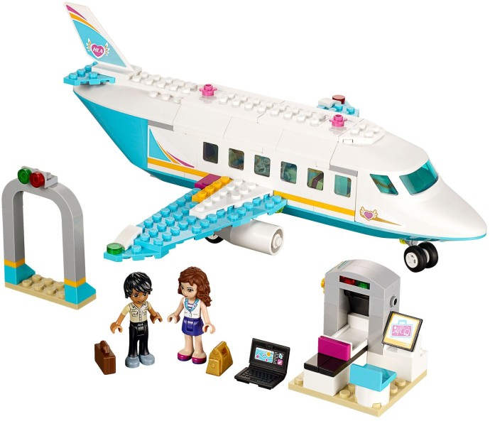 Review 41100 Heartlake Private Jet Brickset Lego Set Guide And
