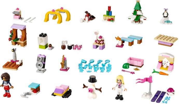 41102 1 Friends Advent Calendar Brickset Lego Set Guide And Database