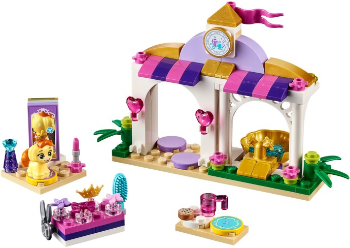 Disney princess brickset lego set guide and database for Lego friends salon de coiffure