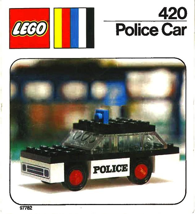 Lego 420 Police Car image