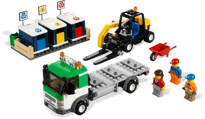 Tagged 39 refuse truck 39 brickset lego set guide and database - Lego brick caravan a record built piece by piece ...
