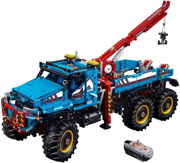 42070 1 6x6 all terrain tow truck brickset lego set. Black Bedroom Furniture Sets. Home Design Ideas