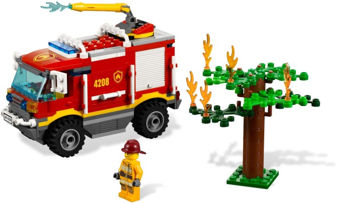 Motor City Auto Auction >> 4208-1: Fire Truck | Brickset: LEGO set guide and database