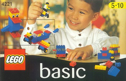 Lego 4221 Basic Building Set, 5+ image