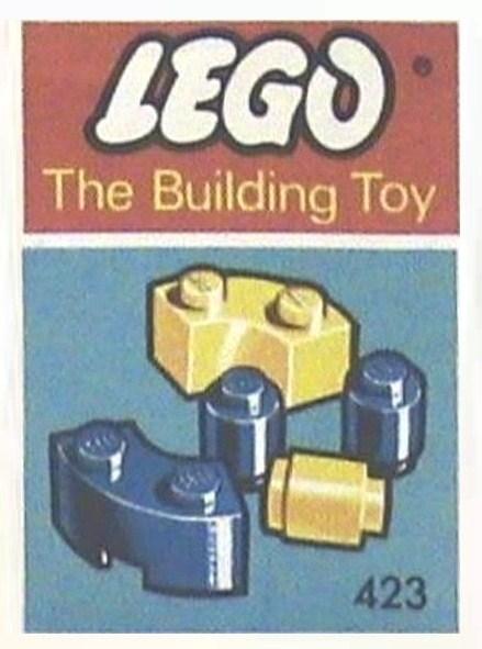 Изображение набора Лего 423 Curved and Round Bricks (The Building Toy)