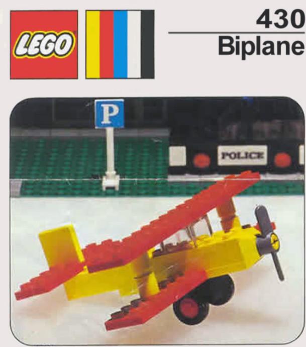 Изображение набора Лего 430 Biplane