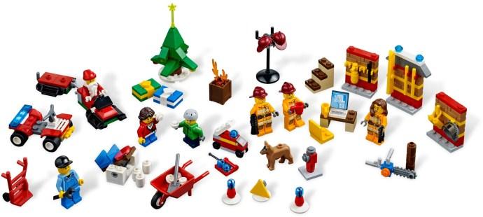 4428 1 City Advent Calendar Brickset Lego Set Guide And Database
