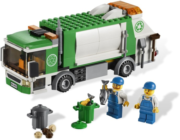 4432 1 Garbage Truck Brickset Lego Set Guide And Database