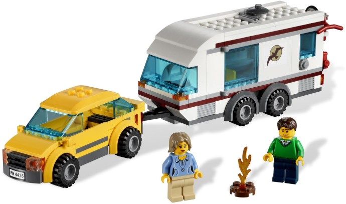 4435 1 car and caravan brickset lego set guide and database. Black Bedroom Furniture Sets. Home Design Ideas