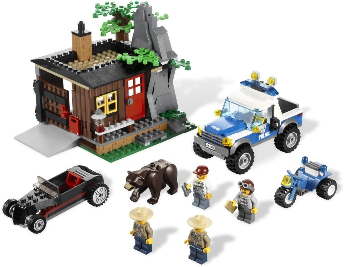 4438 1 Robbers Hideout Brickset Lego Set Guide And