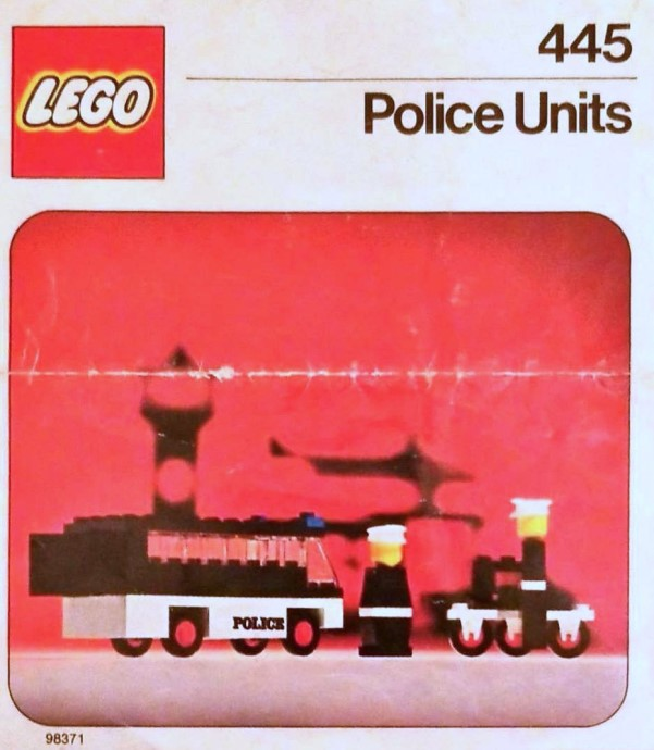 Изображение набора Лего 445 Police Units