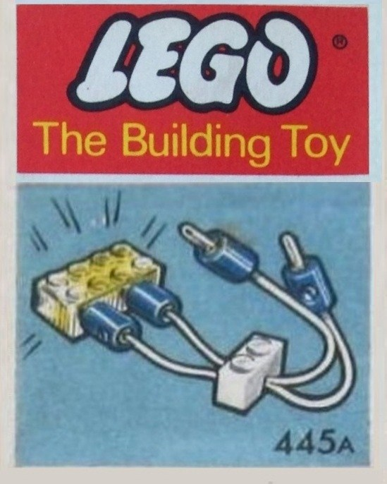 Lego 445A Lighting Device Pack with Improved Plugs (The Building Toy) image