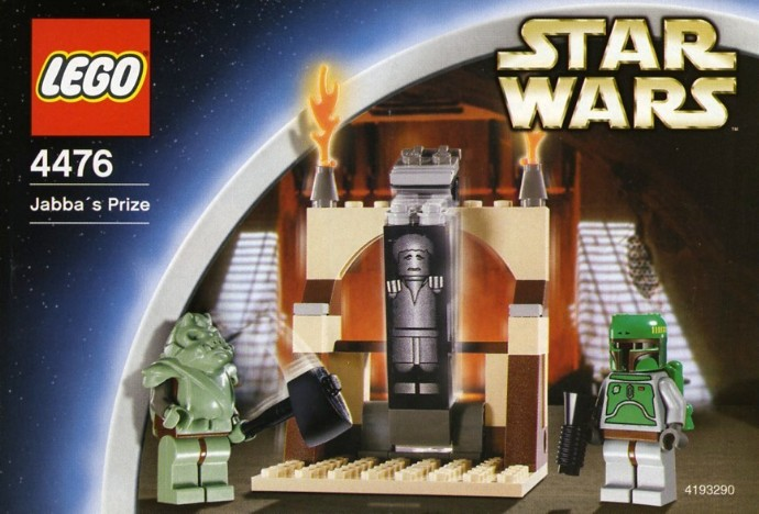4476 1 Jabba S Prize Brickset Lego Set Guide And Database