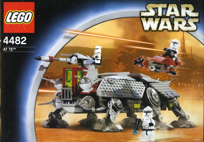 4482: AT-TE | Brickset: LEGO set guide and database