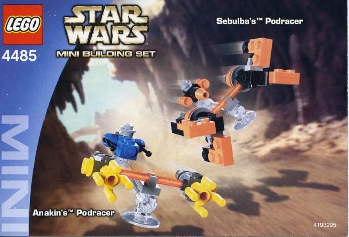 4485 1 Sebulba S Podracer Amp Anakin S Podracer Brickset