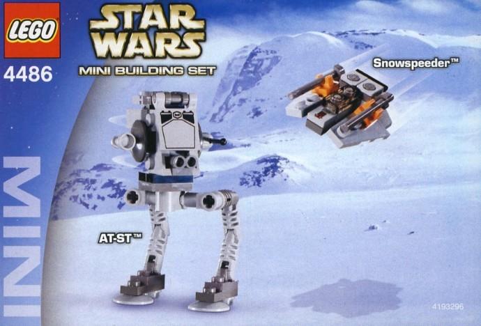 Image result for star wars at-st vs snowspeeder