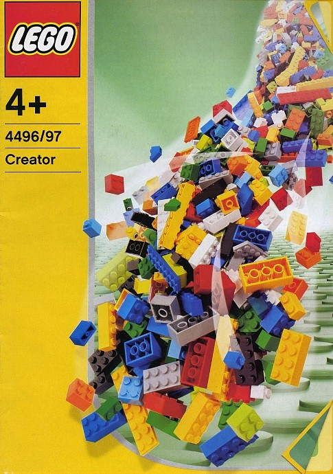 Lego 4496 Fun with Building Tub image