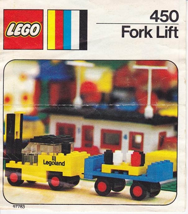 Lego 450 Fork lift image