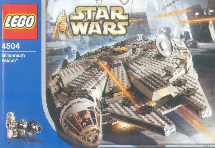 millennium falcon 4504 1 star wars episode v 2004 2004