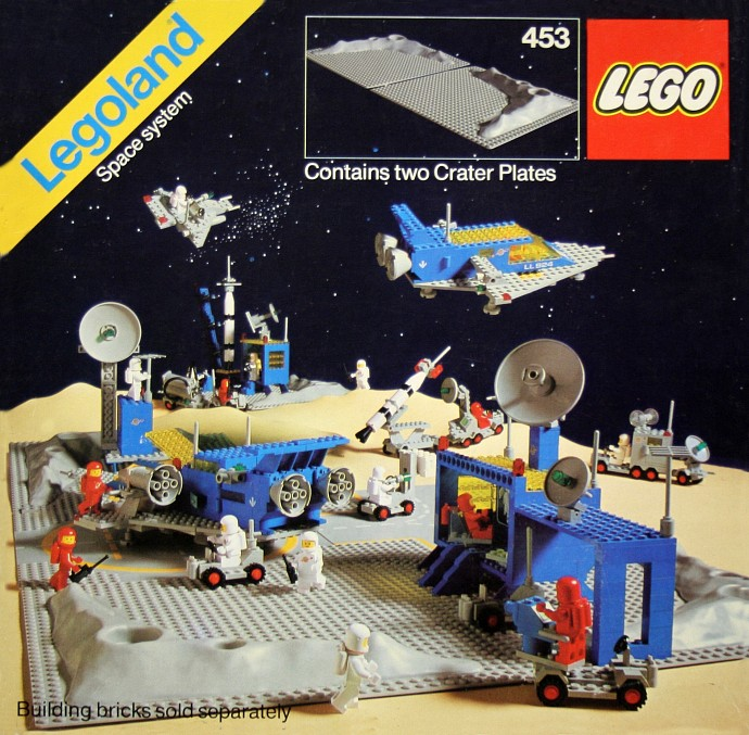 Lego 453 Two Crater Plates image