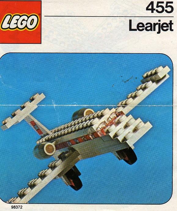 Изображение набора Лего 455 Learjet