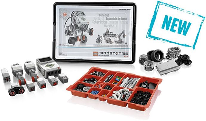 Inventory for 45544-1: Education EV3 Core Set | Brickset: LEGO set ...