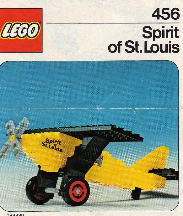 Изображение набора Лего 456 Spirit of St. Louis