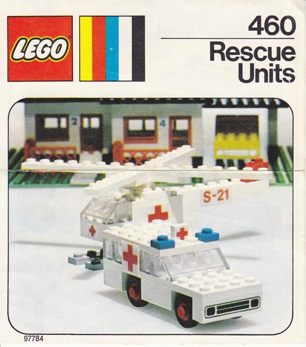 Изображение набора Лего 460 Rescue Units
