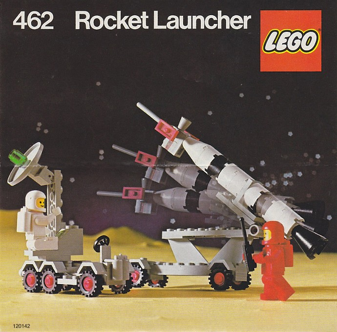 Lego 462 Mobile Rocket Launcher image