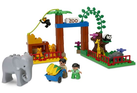 "LEGO DUPLO LEGO Ville Baby Zoo Building Set (4962) - Toys""R""Us"