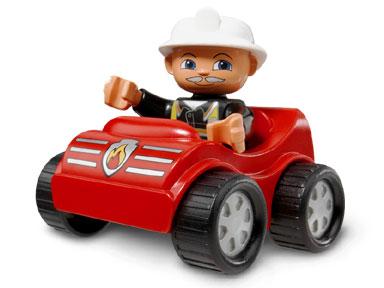 Изображение набора Лего 4692 Fire Car