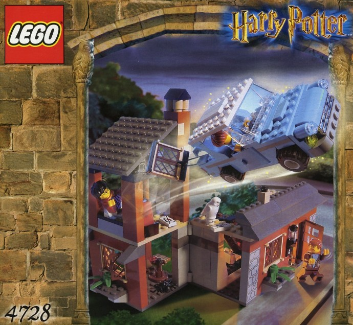 Lego Harry Potter and Chamber of Secrets Escape from Privet
