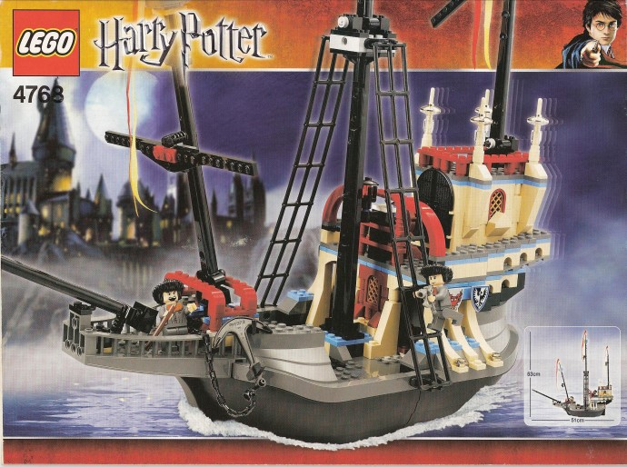 Random Set Of The Day The Durmstrang Ship Brickset Lego Set Guide And Database It is true that durmstrang, which has turned out many truly great witches and wizards, has twice in its history fallen under the stewardship of wizards of. durmstrang ship